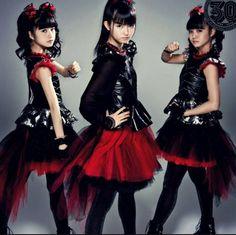 """💜 Babymetal 💜 We are The One 🎵 on Instagram: """"#babymetal #sumetal #nakamotosuzuka #suzukanakamoto #yuimetal #mizunoyui #yuimizuno #moametal #kikuchimoa #moakikuchi"""""""