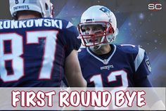 For the 6th straight season, the Patriots have clinched a first-round bye.  12/20/2015