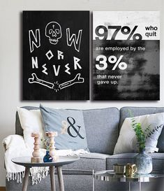 Decoration Pictures, Decorating With Pictures, Wall Art Decor, Nursery Decor, Canvas Wall Art, Canvas Prints, Nordic Art, Work Harder, Painting Quotes