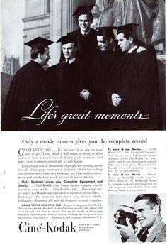 Original-Werbung/ Anzeige (USA) 1939 - CINÉ - KODAK | eBay