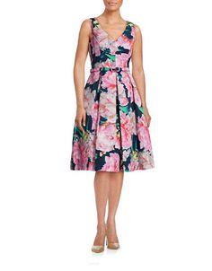 Women's | Dresses | Sleeveless Faille Floral Dress | Hudson's Bay