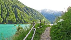 Vernagt-Stausee, the Schnalstal, South Tyrol, Italy