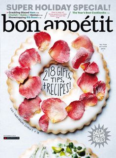 bon appetit magazine - special holiday issue 2014
