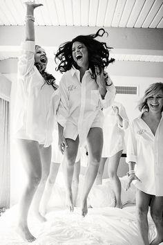 Die Mädels unter sich, ausgelassene Stimmung!