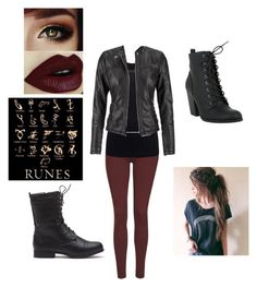 """""""Shadow Hunter Costume Idea"""" by beccagarcia on Polyvore featuring Topshop, Juvia, maurices, ShadowHunter, MortalInstruments, halloweencostume and Halloween2015"""