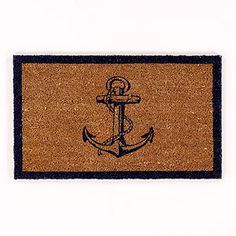 Blue Anchor Doormat | World Market