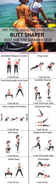 Factor Quema Grasa - Ready to TURN HEADS? Repin if this Butt Shaper gave you crazy results! Read the post for all the workout information! diet workout thigh exercises - Una estrategia de pérdida de peso algo inusual que te va a ayudar a obtener un vientr #WhatIsCelluliteRemoval Fitness Workouts, Fitness Motivation, At Home Workouts, Fitness Tips, Simple Workouts, Butt Workouts, Dumbbell Workout, Mental Training, Strength Training