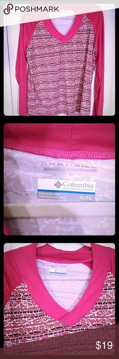 Columbia top Columbia top GUC OMNI wick Columbia Tops