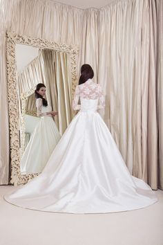 Yusupova Couture wedding dress, style Bonia