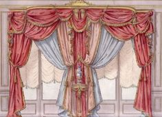 Small Curtains, No Sew Curtains, Window Curtains, Victorian Window Treatments, Victorian Windows, Luxury Furniture Stores, Classic Window, Curtain Headings, Curtain Designs