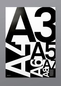 A Poster in Typography