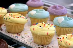 Cupcakes at Magnolia Bakery