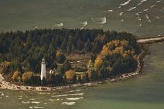Cana Island Lighthouse, Door County, WI, USA My Favorite Light house - so much fun with Carl & Lisa xox