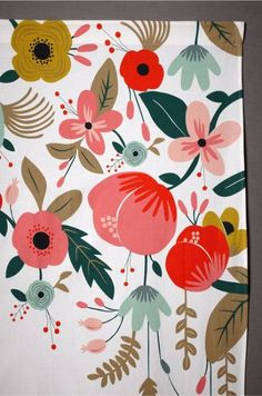 Trendy flowers illustration design graphics rifle paper Ideas #flowers #design