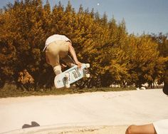 Keith Meek at Derby Park in Santa Cruz in the 1980s. That's been one of my favorite skate spots since then too.