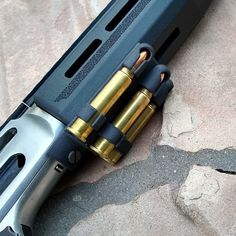 MMarlin Cartridge Quiver attaches to bottom of the receiver and forward under the forearm giving ready access to three extra cartridges. Weapons Guns, Guns And Ammo, Lever Action Rifles, Marlin Lever Action, Weapon Storage, Gun Storage, Firearms, Shotguns, Hunting Rifles