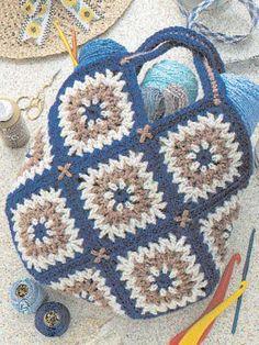 Tapestry Tote Bag: free pattern