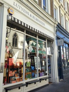 Lutyens & Rubinstein in Notting Hill, right around the corner from that other Notting Hill bookstore (you know, the one Hugh Grant worked in...)