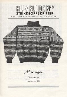 Norwegian Knitting, Jumpers, Color Combinations, Elsa, Knitting Patterns, Knit Crochet, Men Sweater, Sweaters, Vintage
