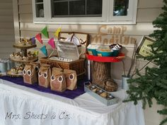 Glamping Party Ideas #party #glamping #camping #partyideas
