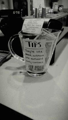 This realization. | 27 Tip Jars That Are Too Clever To Resist