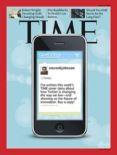 Time Magazine Twitter feature cover
