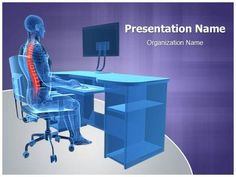 Correct Sitting Posture PowerPoint Presentation Template is one of the best…