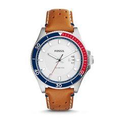 Wakefield Tan Leather Watch