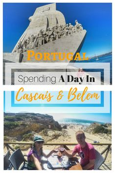 Lisbon To Cascais Getaway By Taxi - Day Trip To Guincho Beach & Belem Backpacking Europe, Europe Travel Guide, Travel Guides, Travel Info, Travel Advice, Visit Portugal, Spain And Portugal, Portugal Travel, European Vacation