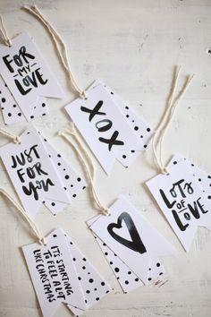 Free Printable Gift Tags — Jasmine Dowling