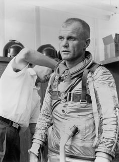 John Glenn changed the history of spaceflight for the U.S., becoming the first American to orbit the planet. Private Pilot License, John Glenn, Native Son, Dna Repair, Queer As Folk, Nasa History, Kennedy Space Center, Cape Canaveral, Nasa Astronauts