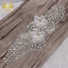 Aliexpress.com : Buy (5pieces) Wholesale Hot Fix Strass Sew On Wedding Dress…