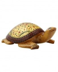 6ae4dbeac Hand Carved Wooden Turtle Statue, Indian Home Decor Turtle Figurines,  Indian Home Decor,