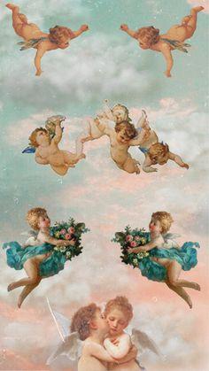 Wallpaper angel aesthetic