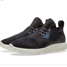 b40f2f2e3c Nike Shoes   New Nike Lunarcharge Premium Leather Suede Sneaker   Color:  Black/Blue   Size: 10.5