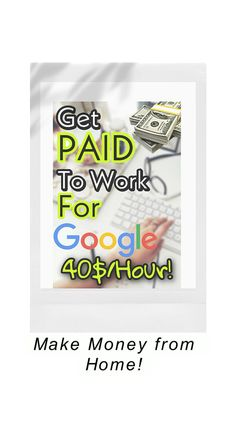 Make money from home Earn Money From Home, Earn Money Online, Online Jobs, Way To Make Money, Online Work From Home, Work From Home Jobs, Money Tips, Money Budget, Money Hacks