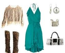 Perfect date night outfit for a spring Nashville night.   :)       #examinercom  #nashville   #fashion