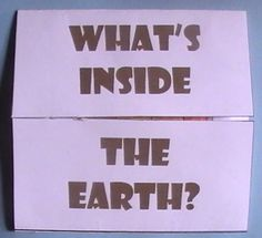 Lots of earth science foldables