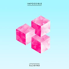 Impossible objects series by Rémy Navarro, via Behance