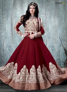 maroon-color-pure-georgette-and-pure-chiffon-anarkali-suit-6308-800x1100.jpg (800×1100)