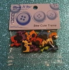 5 cute dress it up buttons Fun Mushroom Houses Crafts Knitting Scrap booking