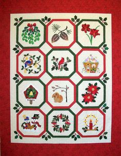 Winter Wonderland by Holly H. Nelson | Holly Quilts.  Pattern available.