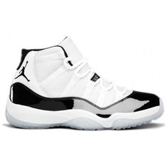 378037-107 Air Jordan Retro 11 (XI) Concord 2011 White Black Dark Concord 344e182e6