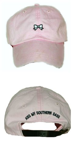 KMSS Embroidered Bow Hat $16  Use promo code: NoraMcFaddin