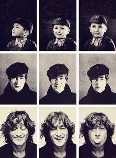 John Lennon evolution