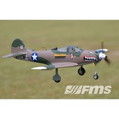 The 980mm High Speed P-39 Hells bells is another fantastic warbird from FMS. Expect way more than scale speed from this plane. We used an extremely accurate radar gun and consistently clock between 90mph and 95mph on high speed runs. Some have even seen over 100mph out of the box.