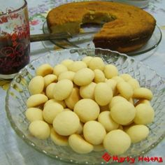 Biscoitos de fécula de batata