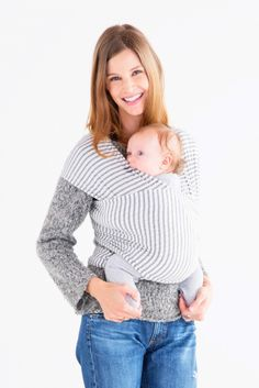 For babywearing, the @sollybaby wrap is not only soft and comfortable, but we love the sweet patterns!
