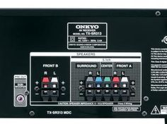 Receiver 5.1 Canais c/ Suporte à Tecnologia 3D - 4 HDMI 325W TX-SR313 - Onkyo