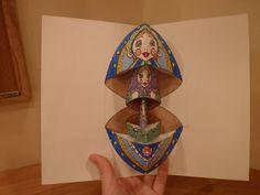 Matryoshka Pop-up Card